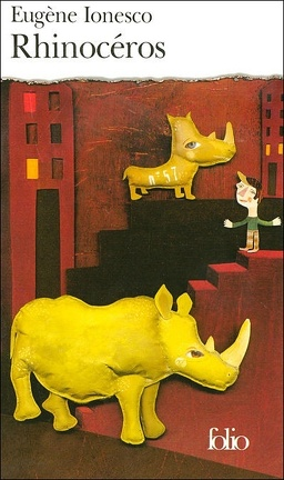 Couverture du livre : Rhinocéros