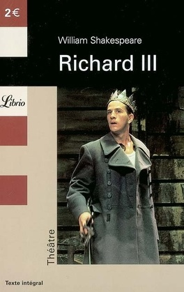 Couverture du livre : Richard III