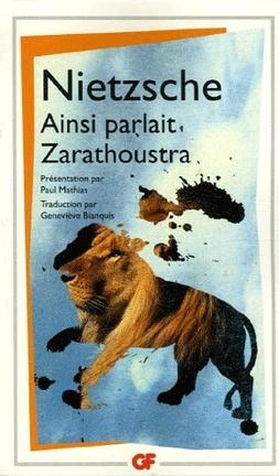 Couverture du livre : Ainsi parlait Zarathoustra