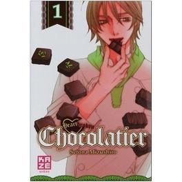 Couverture du livre : Heartbroken Chocolatier, Tome 1