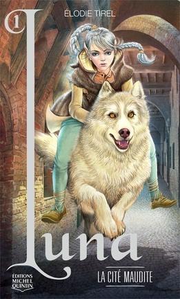 Couverture du livre : L'Elfe de lune, Tome 1 : La Cité maudite