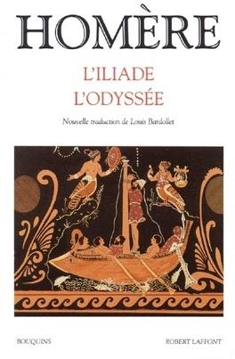 Couverture du livre : L'Iliade ; L'Odyssée