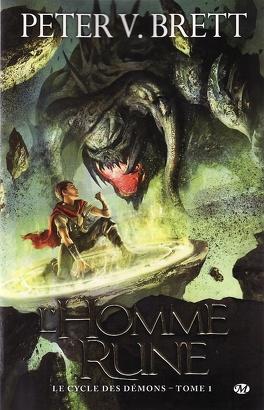 Couverture du livre : Le Cycle des Démons, tome 1 : L'Homme-Rune