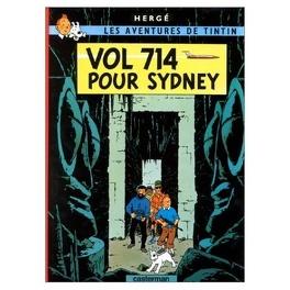 Couverture du livre : Les Aventures de Tintin, Tome 22 : Vol 714 pour Sydney