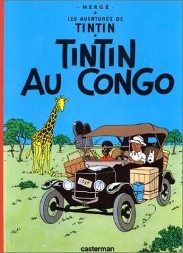 Couverture du livre : Les Aventures de Tintin, Tome 2 : Tintin au Congo