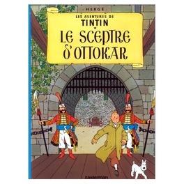 Couverture du livre : Les Aventures de Tintin, Tome 8 : Le Sceptre d'Ottokar