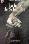 couverture La Liste de Schindler