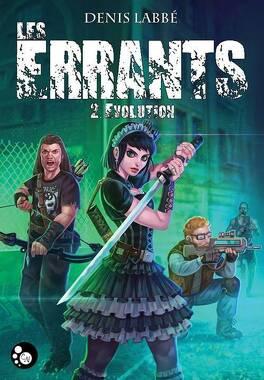 Couverture du livre : Les Errants, tome 2 : Évolution