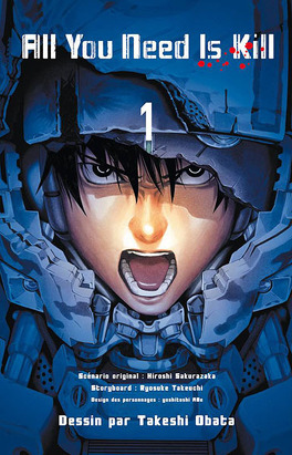 Couverture du livre : All You Need Is Kill, tome 1