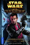 couverture Star Wars - The Old Republic, Tome 4 : Annihilation