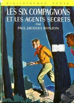 Couverture de Les Six Compagnons et les agents secrets