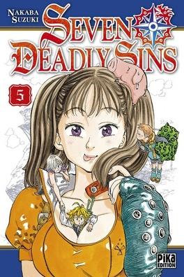 Couverture du livre : Seven Deadly Sins, Tome 5