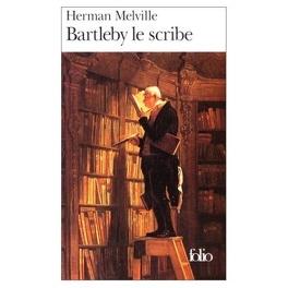 Couverture du livre : Bartleby le scribe