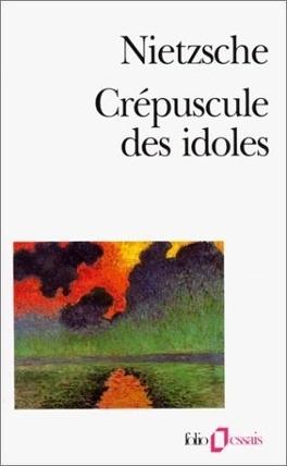 Couverture du livre : Crépuscule des idoles