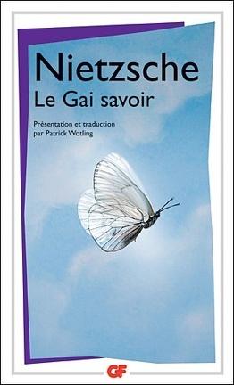 Couverture du livre : Le Gai Savoir