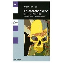 Couverture du livre : Le Scarabée d'or, suivi de La lettre volée