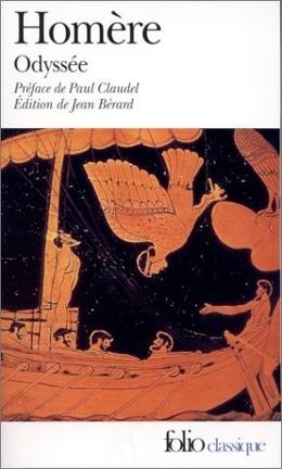 Couverture du livre : L'Odyssée