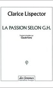 La passion selon G H