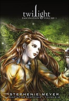 Couverture du livre : Twilight, Tome 1 : Fascination I (Roman graphique)