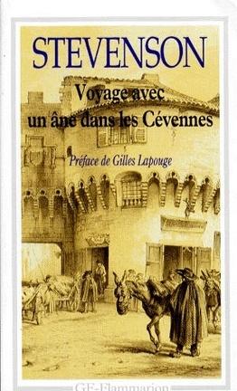 Couverture du livre : Voyage avec un âne dans les Cévennes