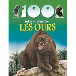 Couverture de 100infos à connaître: Les ours