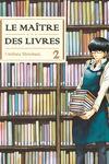 couverture Le maître des livres, tome 2