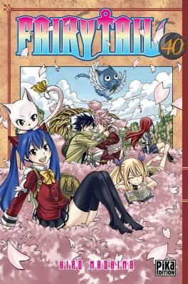 Couverture du livre : Fairy Tail, Tome 40