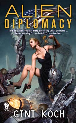 "Couverture du livre : Katherine ""Kitty"" Katt, Tome 5 : Alien Diplomacy"