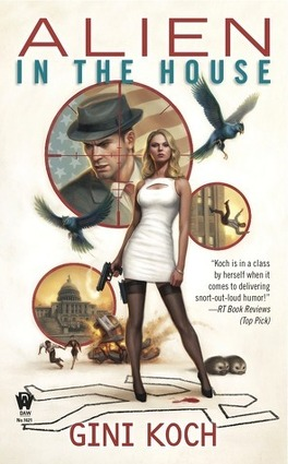 "Couverture du livre : Katherine ""Kitty"" Katt, Tome 7 : Alien in the House"