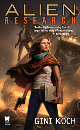 "Couverture du livre : Katherine ""Kitty"" Katt, Tome 8 : Alien Research"