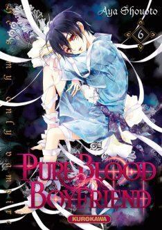 Couverture du livre : Pure blood boyfriend : He's my only vampire, Tome 6