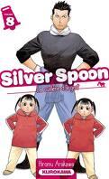 Silver Spoon : La cuillère d'argent, Tome 8