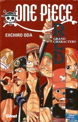 Couverture du livre : One Piece Red, Grand characters