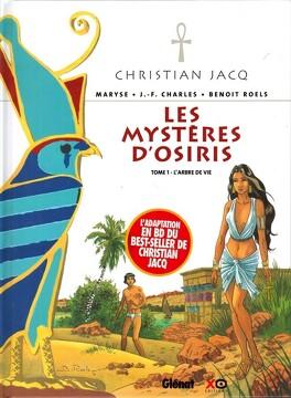 Couverture du livre : Les mystères d'Osiris, tome 1 : L'arbre de vie (BD)