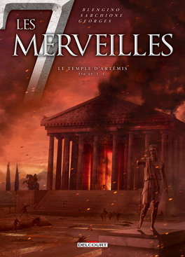 Couverture du livre : Les 7 merveilles, tome 4 : Le temple d'Artémis