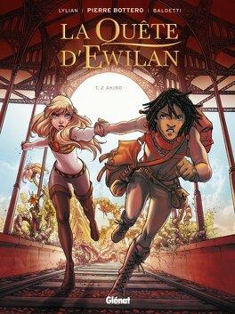 Couverture du livre : La Quête d'Ewilan, Tome 2 : Akiro (Bd)