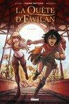 couverture La Quête d'Ewilan, Tome 2 : Akiro (Bd)