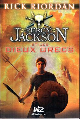 Couverture du livre : Percy Jackson et les Dieux grecs