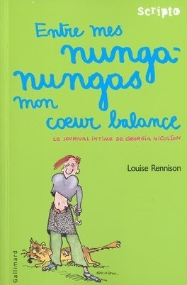 Couverture du livre : Le Journal intime de Georgia Nicolson, Tome 3 : Entre mes nunga-nungas mon cœur balance