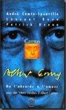 Camus: De l'absurde à l'amour : lettres inédites d'Albert Camus