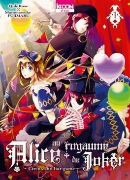 Couverture du livre : Alice au royaume de Joker, tome 1