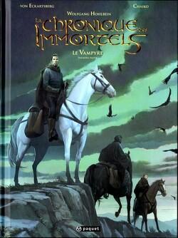 Couverture de La chronique des Immortels, tome 4 : Le Vampyre - Première Partie