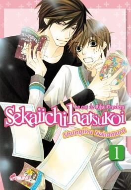 Couverture du livre : Sekaiichi Hatsukoi, Tome 1