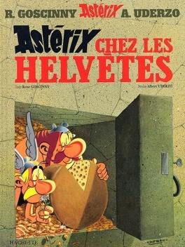 Couverture du livre : Astérix, Tome 16 : Astérix chez les Helvètes