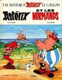 Couverture du livre : Astérix, Tome 9 : Astérix et les Normands