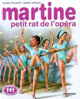 Couverture du livre : Martine petit rat de l'opéra
