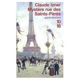 Couverture du livre : Mystère rue des Saints-Pères