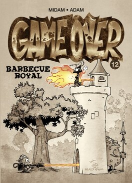Couverture du livre : Game Over, Tome 12 : Barbecue royal