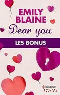 Dear You - Les Bonus