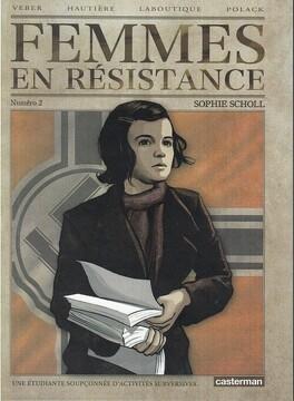 Couverture du livre : Femmes en résistance, Numéro 2 : Sophie Scholl